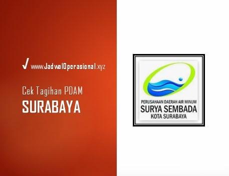 Cek Tagihan PDAM Surabaya