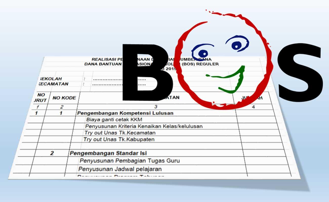 Download Contoh Rincian Bulanan LPJ / SPJ BOS Format Excel