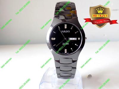 Đồng hồ nam cao cấp dây đá ceramic RD 1K2V3