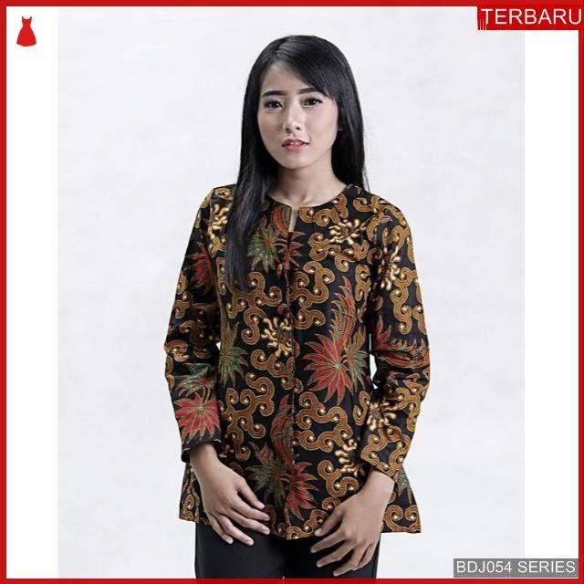 BDJ54B42 Blouse Batik 0072 Terbaru BMGShop