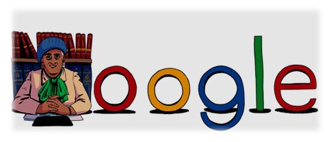منصة جوجل تحتفل بمفيدة عبد الرحمن أول محامية مصرية
