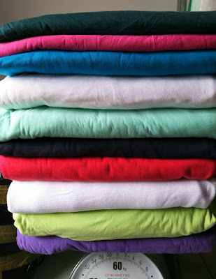 Set 15kg cotton 2c may quần áo trẻ em