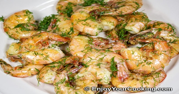 Simple Fried Shrimps Recipe