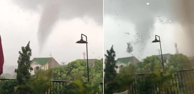 Badai Luluh-lantakkan Bogor dalam Waktu Singkat, Ini Penjelasan BMKG