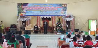 Punguan Toga Manullang Boru, Bere, Ibe bere Se-Kota Jambi Dohot Nahumaliangna Gelar Perayaan Natal.