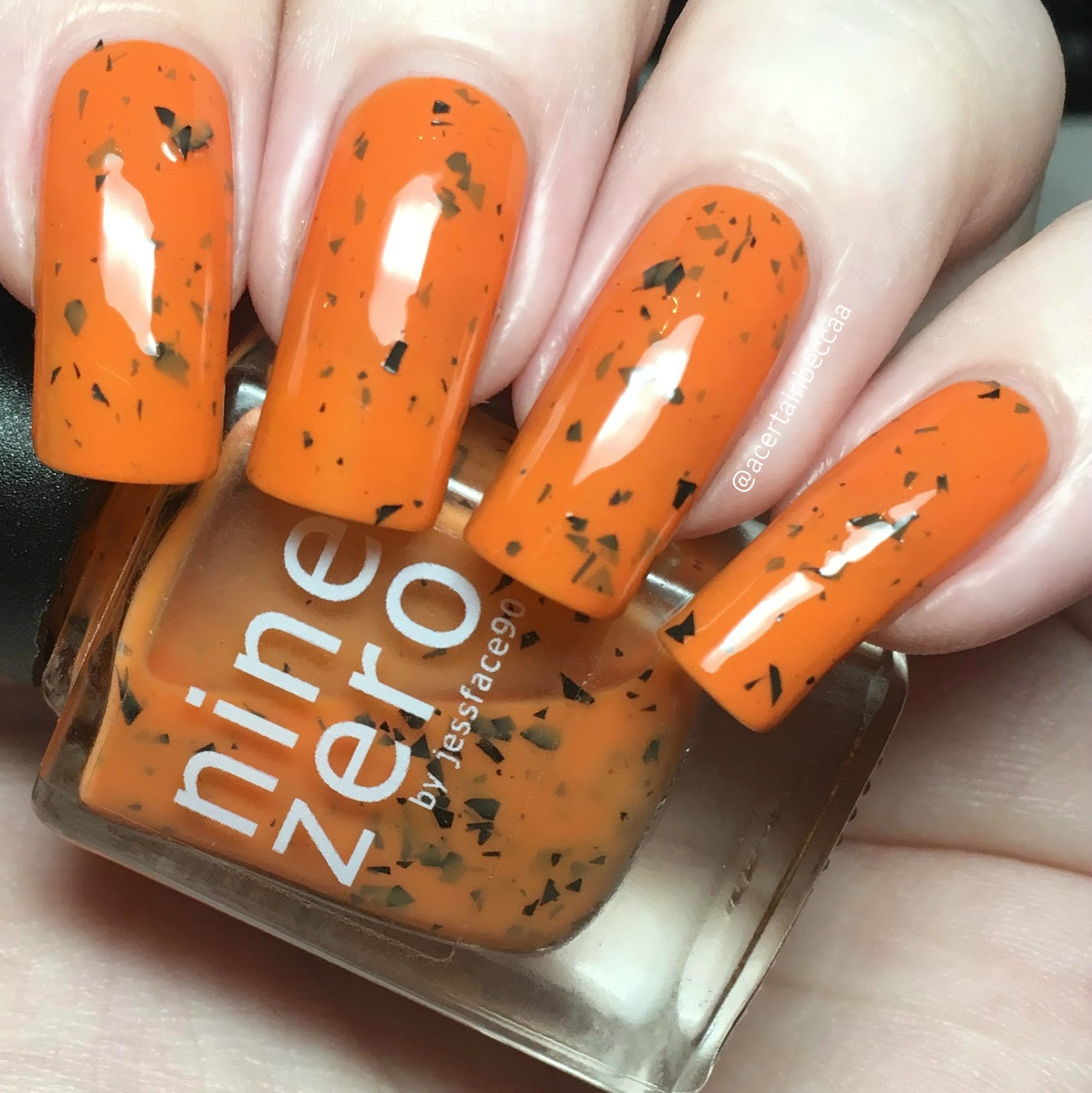 A Certain Becca Nails: Nine Zero Lacquer \'October 2016\' & \'Jack O ...