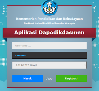 aplikasi dapodik operator sekolah