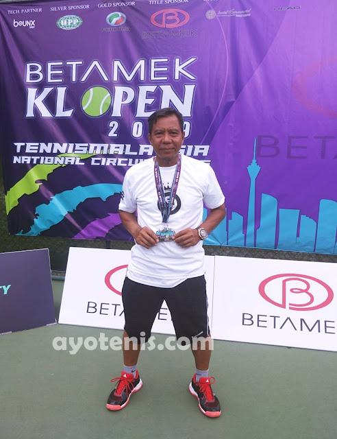 Yosi Juara Kuala Lumpur Open Tennis Championship 2019