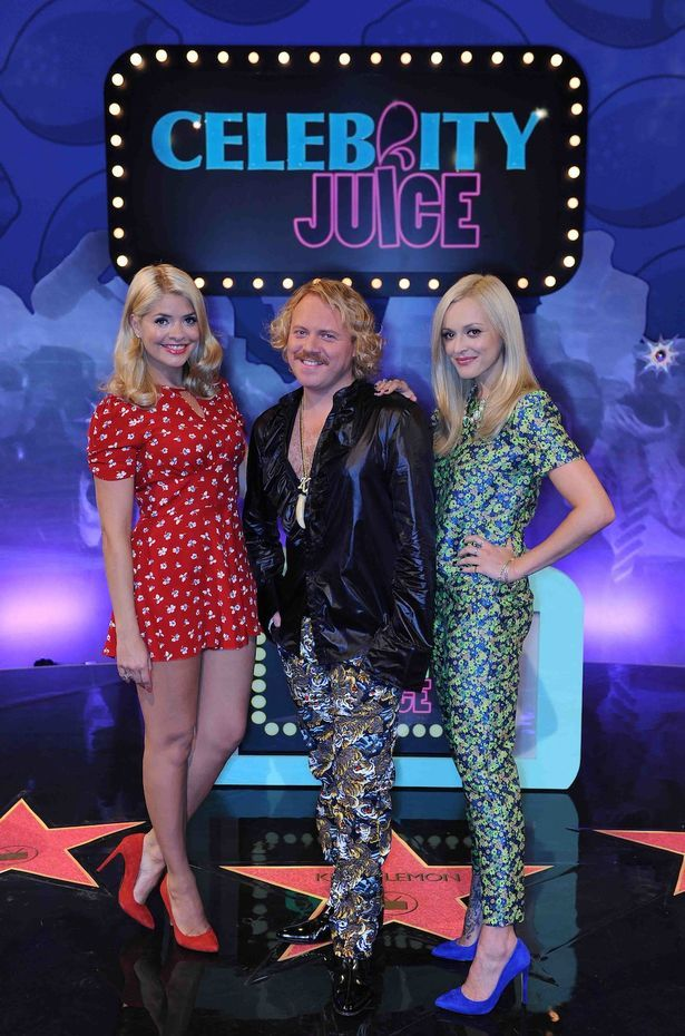 presenter holly willoughby leaves celebrity juice