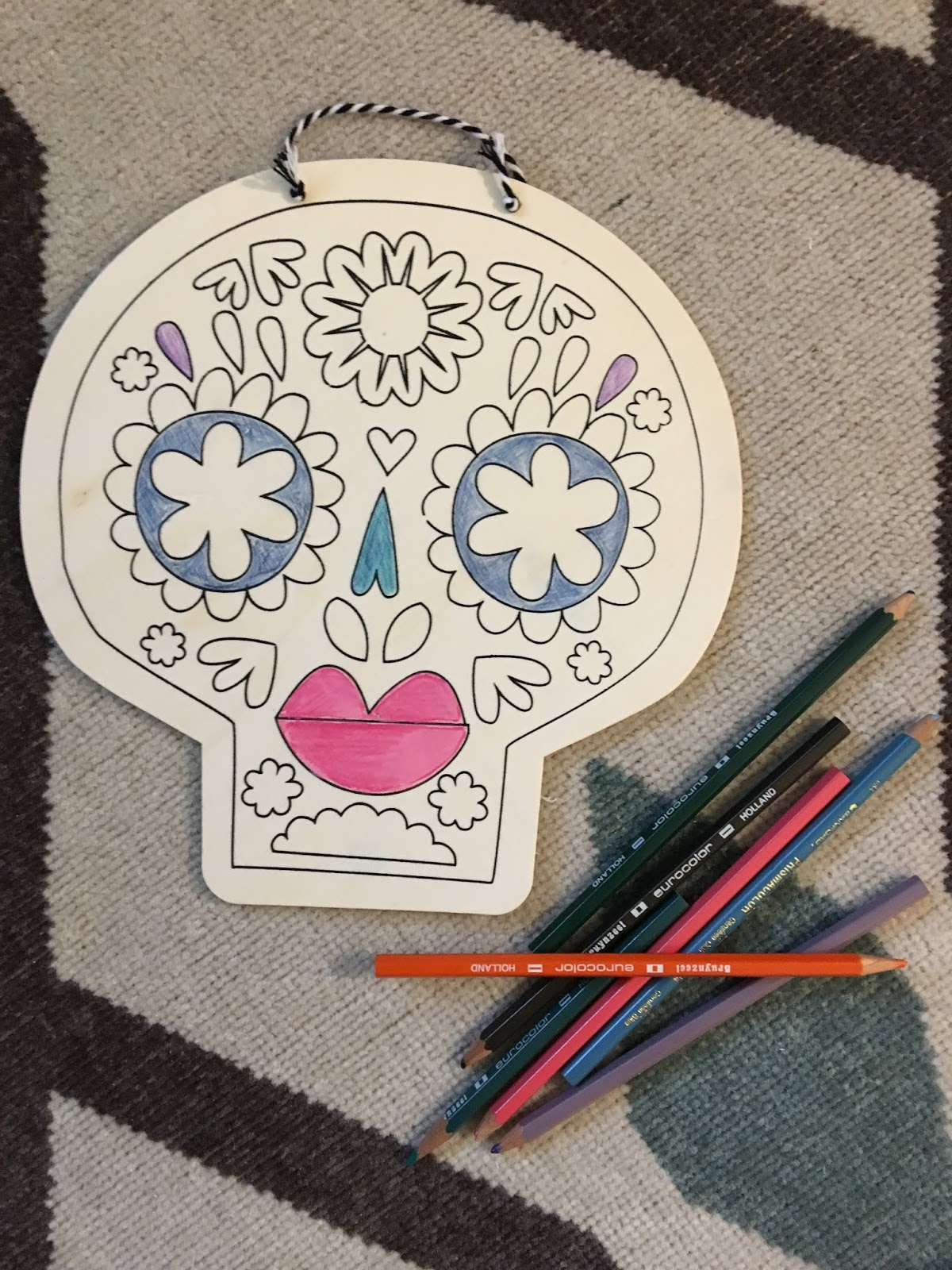 Dia de los Muertos Door Decor | House Homemade