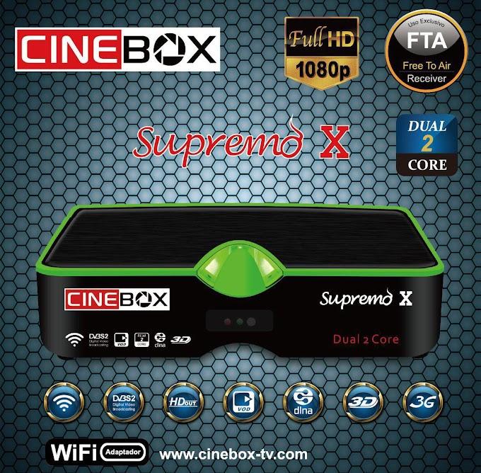 CINEBOX SUPREMO X NOVA ATUALIZAÇÃO - 29/07/2019