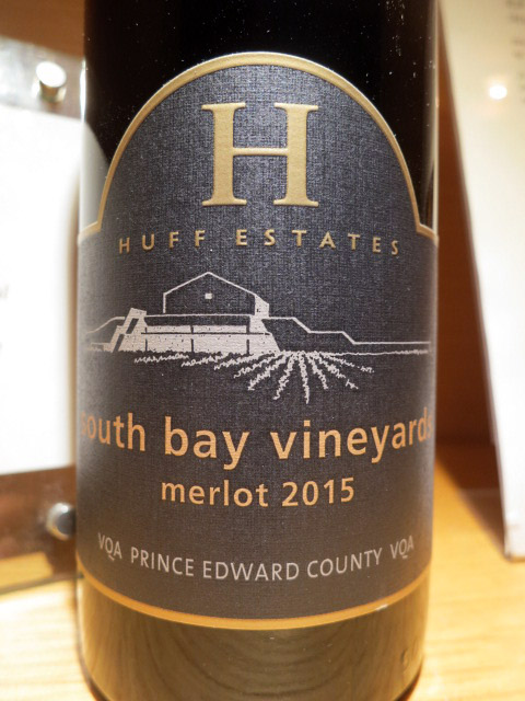Huff Estates South Bay Merlot 2015 (88 pts)