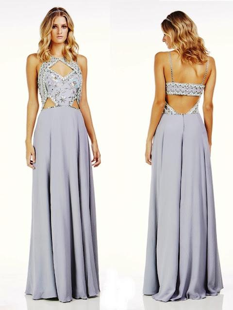 vestido de festa verão 2017