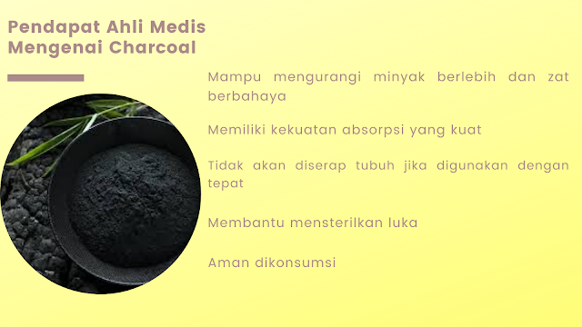 manfaat charcoal