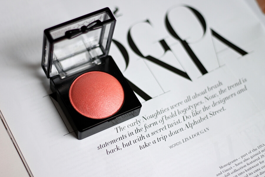 nyx baked blush foreplay review recenzija