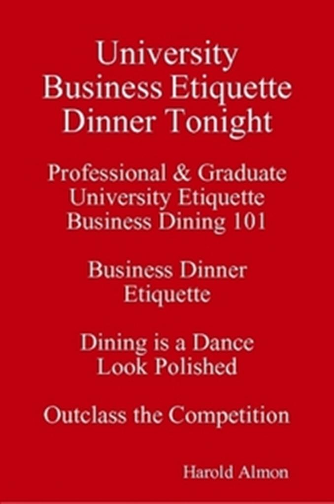 dining etiquette essay