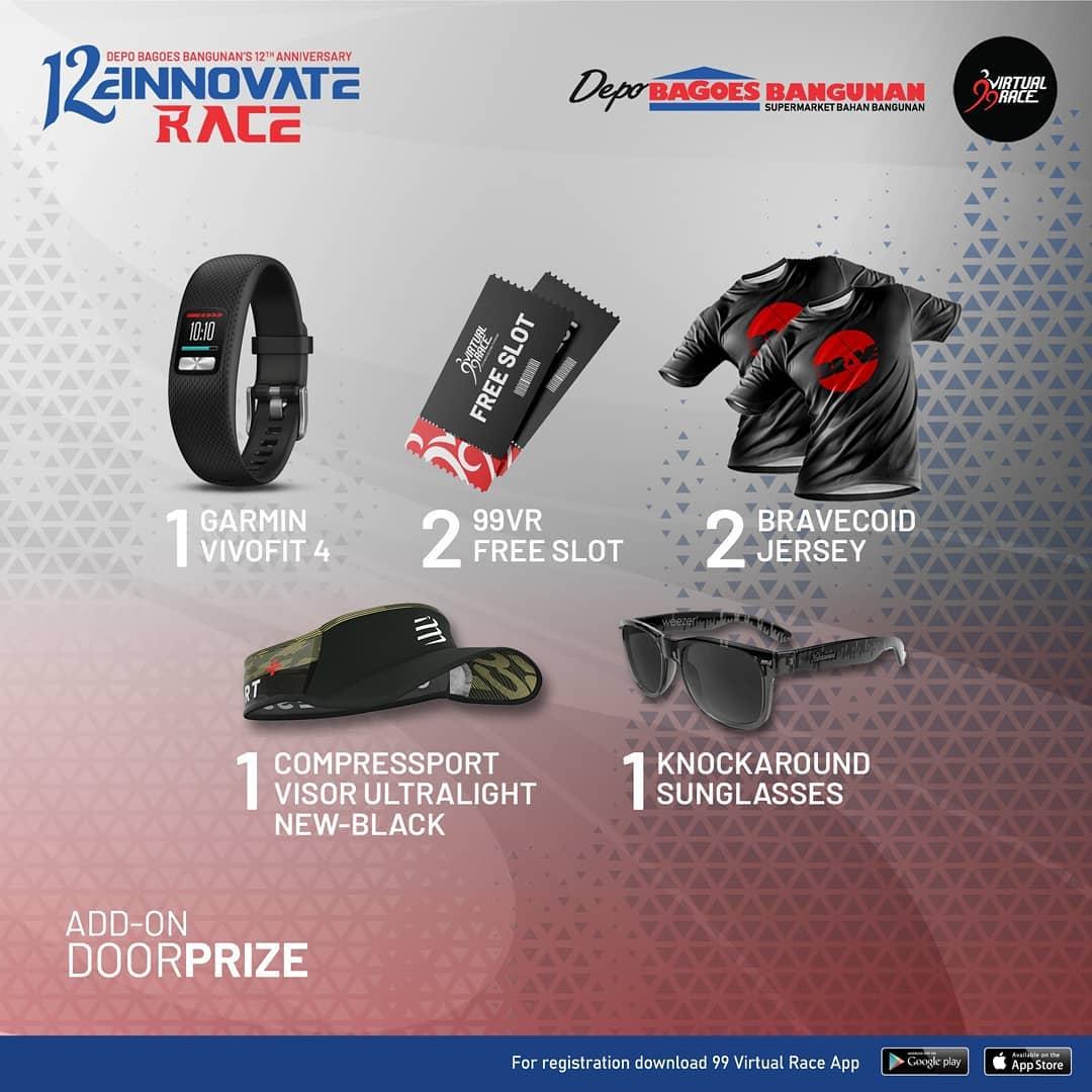 Doorprize � 12einnovate Race • 2021