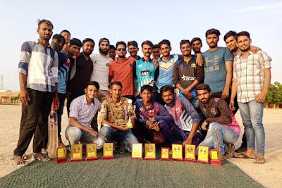 राजस्खेथान में खेमा बाबा क्रिकेट कप बायतु का हुआ समापन।