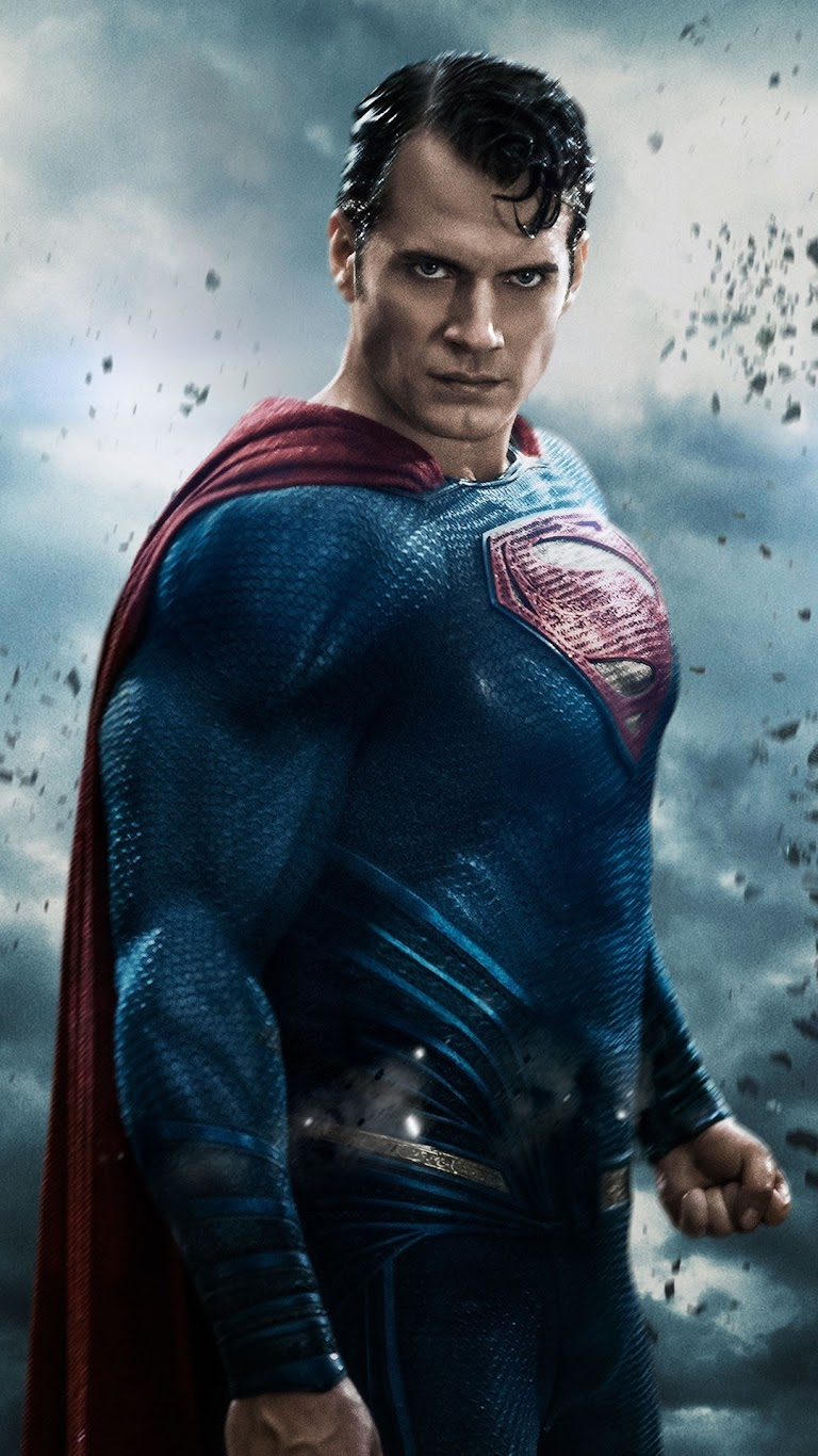 Galaxy Note HD Wallpapers: Superman Look Batman V Superman ...