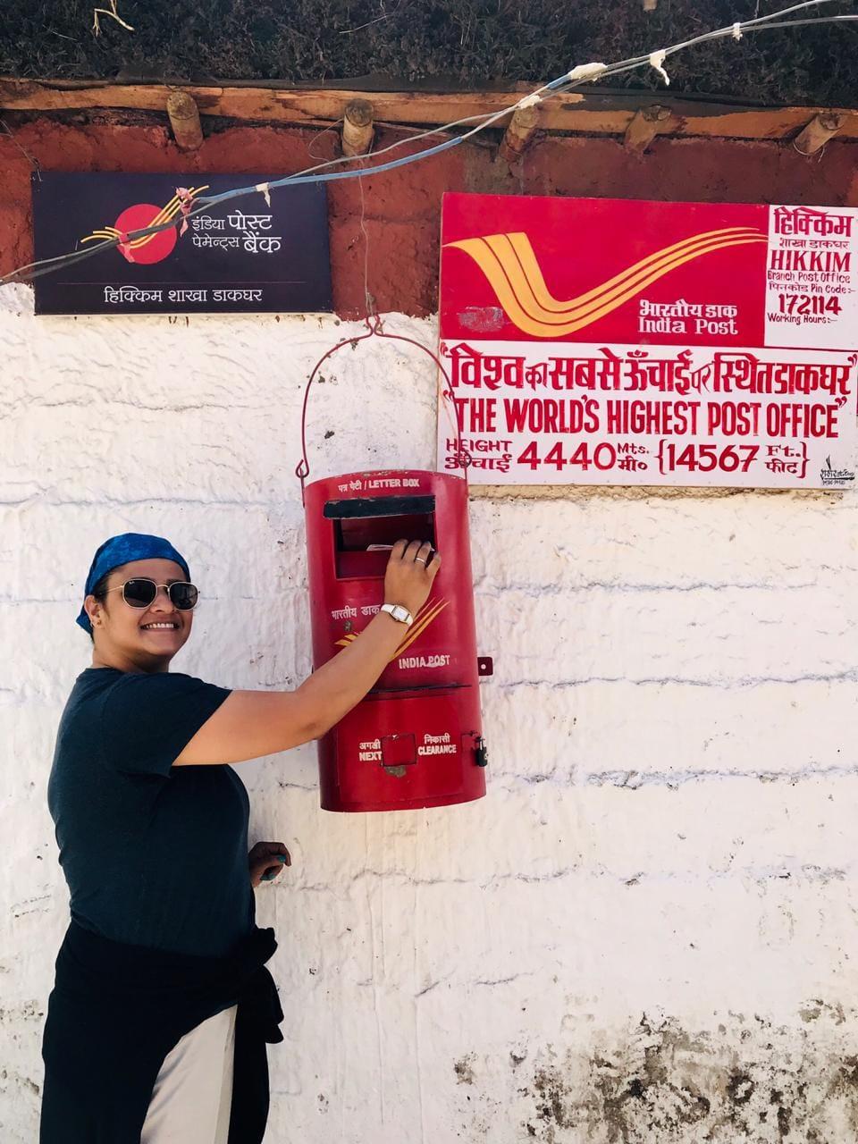 World highest Post office Hikkim