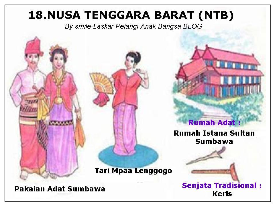 Rumah Adat, Tarian, Senjata, Alat Musik 33 Provinsi ...