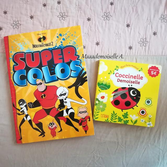Super colos Indestructibles - Livre sonore Coccinelle demoiselle