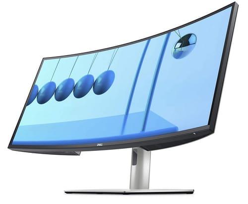 Dell U3421WE UltraSharp Curved USB-C Hub Monitor