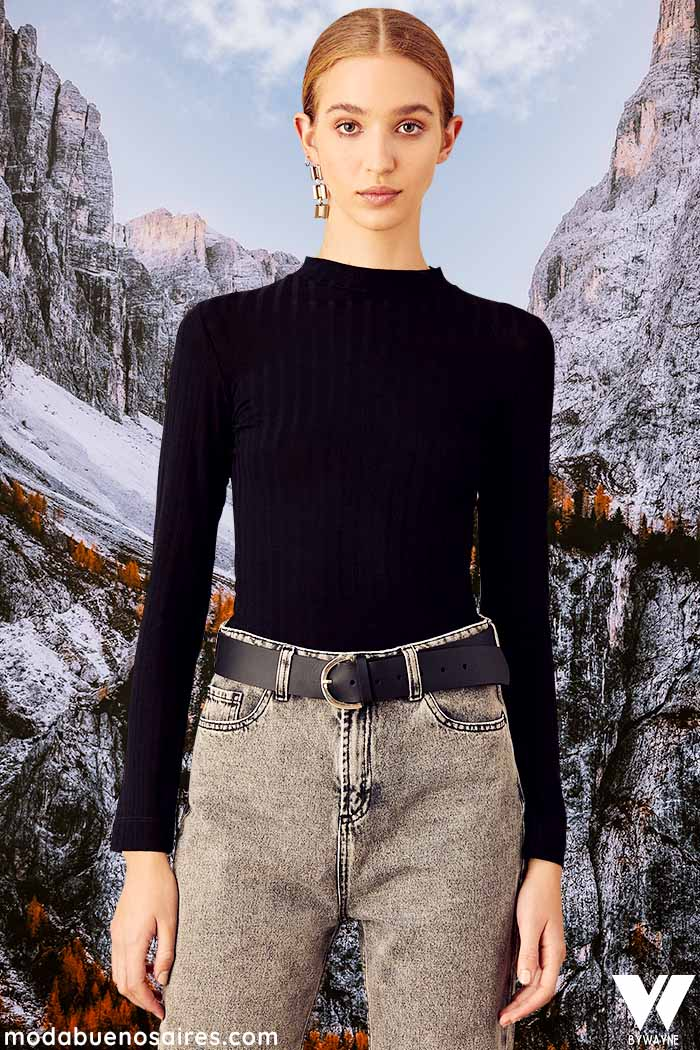poleras invierno 2021 moda mujer