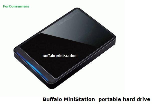 Buffalo MiniStation 500GB portable hard drive