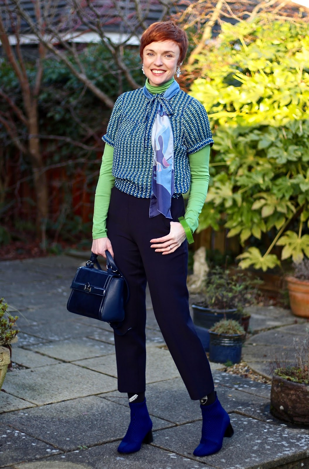 Mixing Blue & Green | Breaking Colour Rules | Fake Fabulous