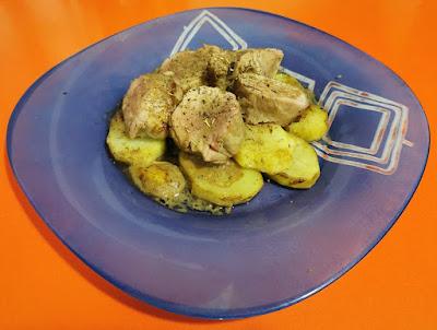Receta de Solomillo de cerdo al horno con miel y mostaza