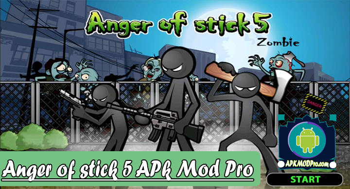 Anger Of Stick 5 V 1.1.8 (MOD Unlimited Money) Apk Mod Pro Terbaru 2020