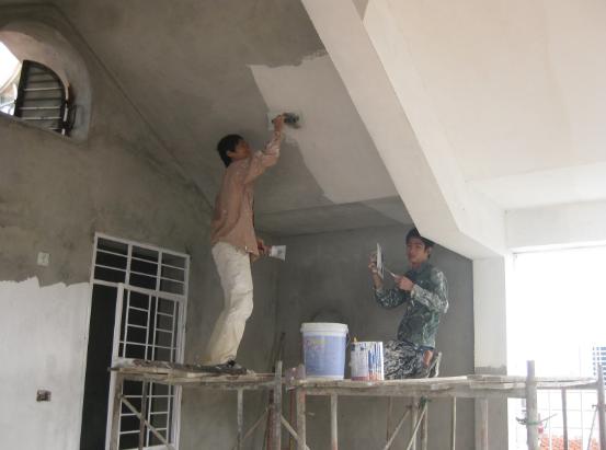 Thợ sơn nước tại quận 2