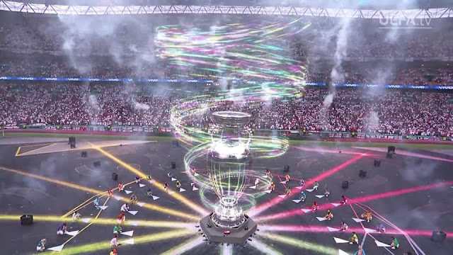 [Foto] Closing (ceremony) Final Piala Eropa 2020 di Stadion Wembley Stadium