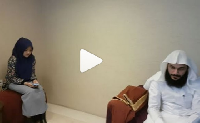 Tilawah Wirda Mansur di Depan Imam Masjidil Haram bikin Merinding