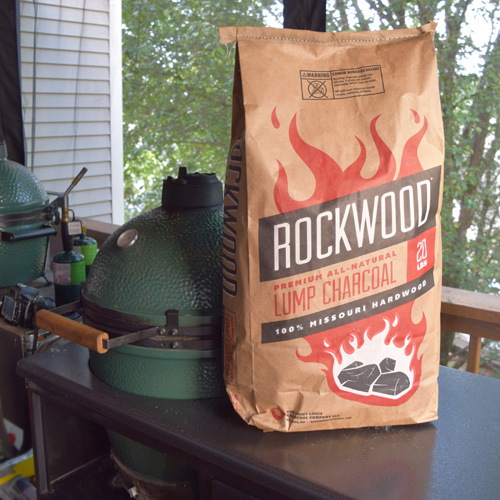 I like to use a premium charcoal when stir frying, such as Rockwood.