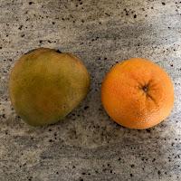 Ingrédients smoothie mangue pamplemousse