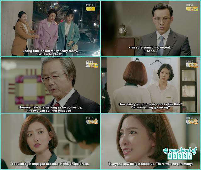 Yeon eun throw the cheap engagement dress - controllably Fond - Episode 12 Review - Korean Drama 2016