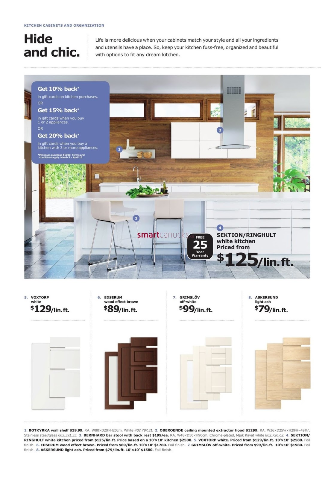 Ikea Flyer The Dining Event Valid March 5 16 2018 Weekly Flyers Ontario