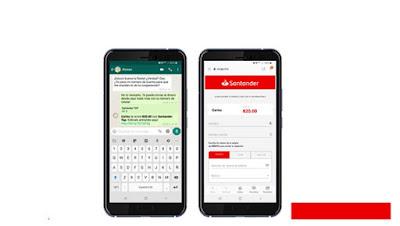 Aplicación App Santander Tap