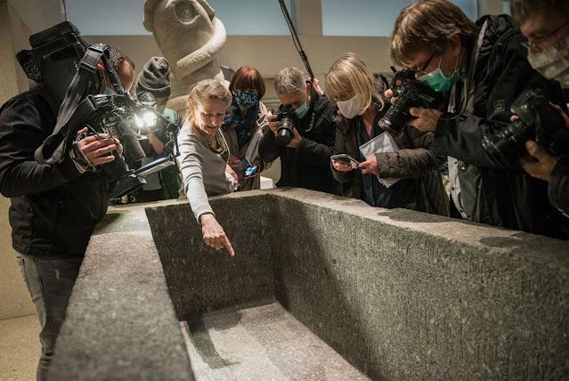 Mysterious vandal attacks at Berlin museums