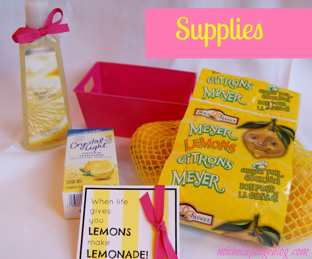Yellow gifts to cheer up a friend @michellepaigeblogs.com