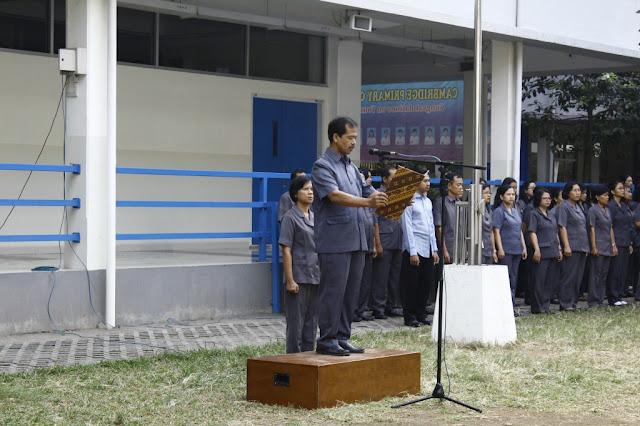 SKKK Surakarta Adakan Upacara Bendera Memperingati HUT RI Ke 72