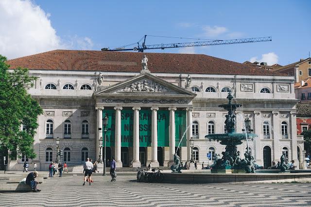 マリア2世国立劇場(Teatro Nacional D. Maria II)