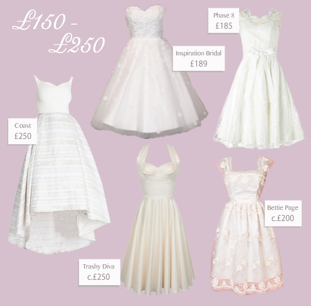 15 Fabulous Short Vintage 40s/50s Style Wedding Dresses