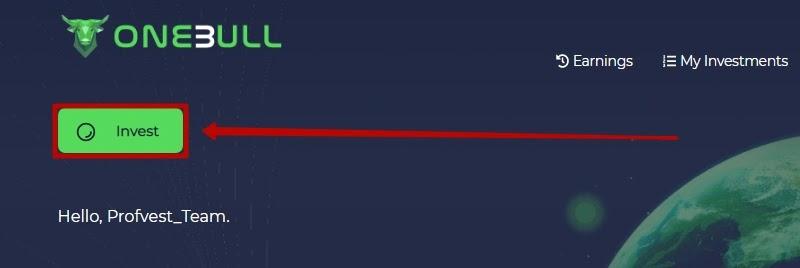 Пополнение баланса в OneBull