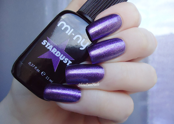 MI-NY Stardust - Lovely: swatches and review