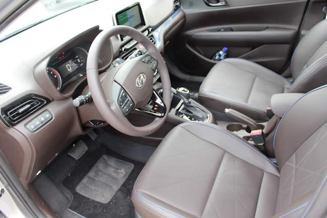 Novo HB20 2020 - interior
