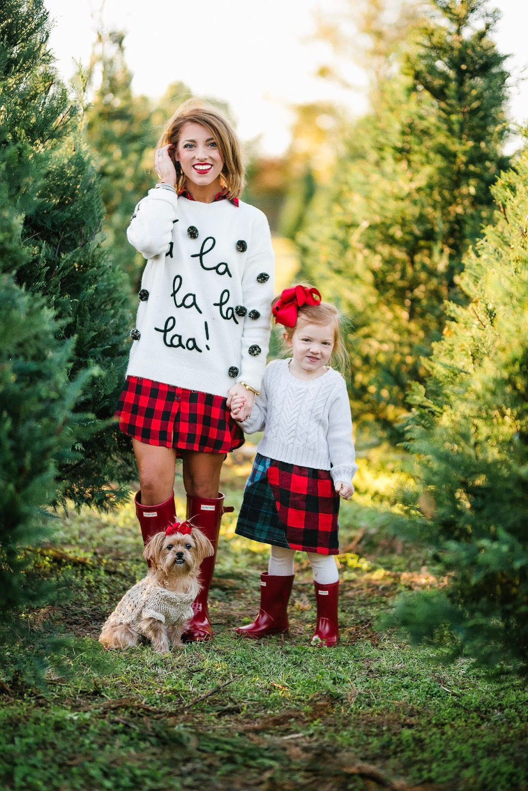 A Trip To The Tree Farm + Gift Guide for the Pet Lovers - Something Delightful Blog