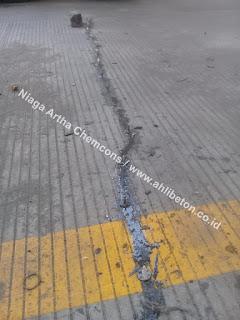 injeksi retak jalan beton